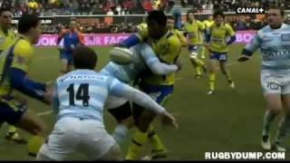 Tries in France 2011 2012 day 17 Clermont - Racing Metro