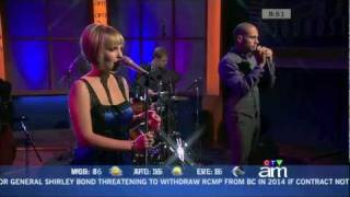Sophie Milman - No More Blues - Canada AM - Sep 28 2011 (Live)