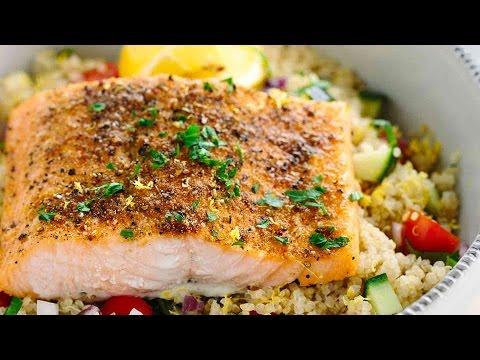 Mediterranean Spiced Salmon Recipe