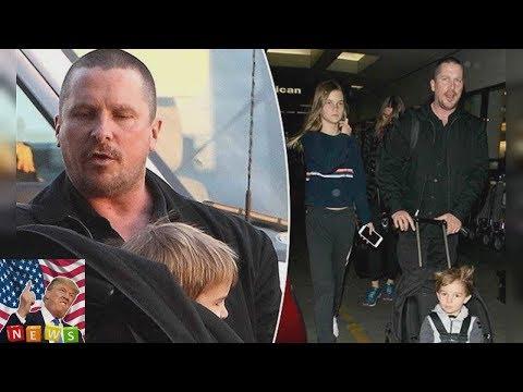 Christian Bale yet household again among Los Angeles since Hostiles junket stability  Breaking News
