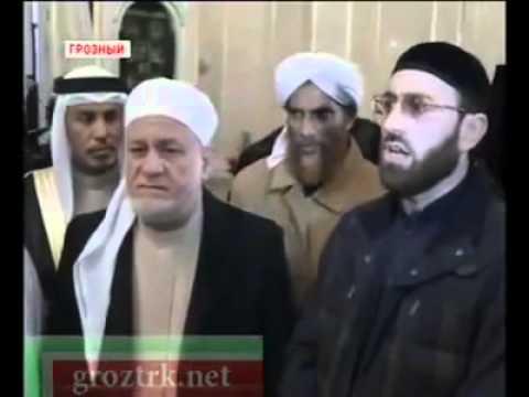 Kanthapuram AP Aboobacker Musliyar in Chechnya in an Historical Event
