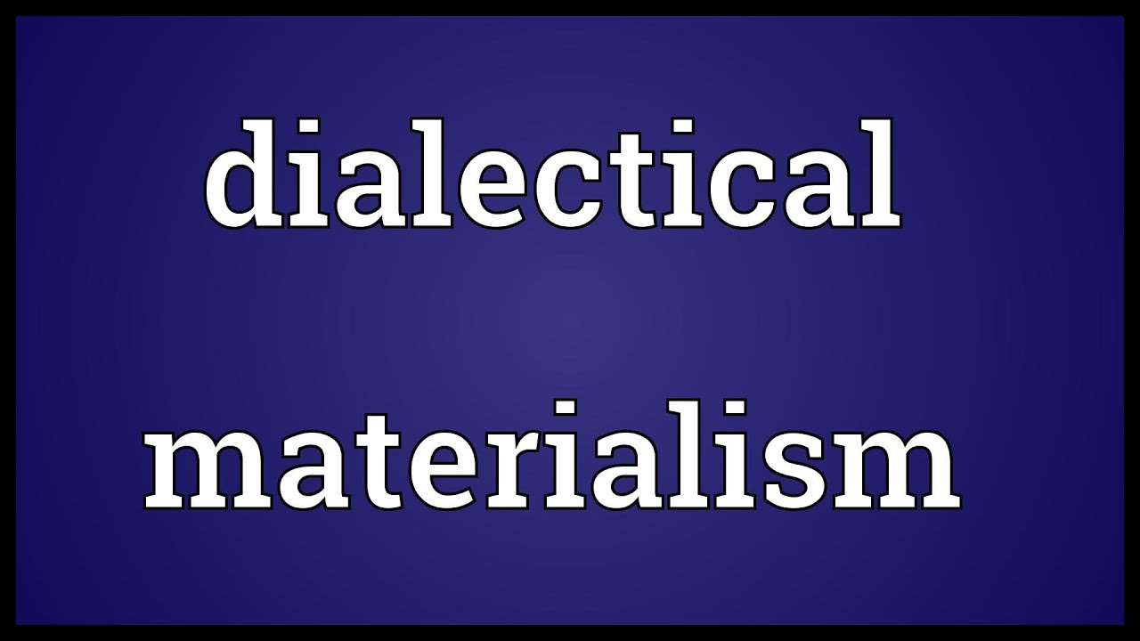 dielectric materialism