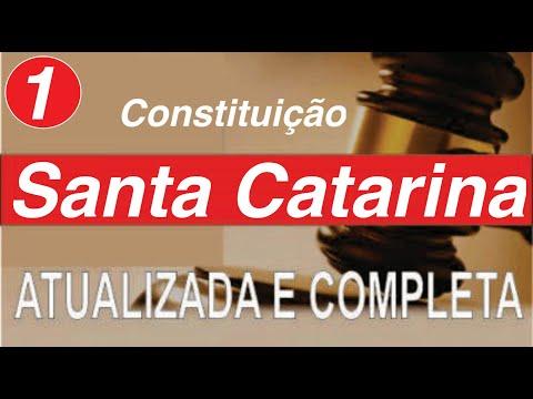 Constituição De Santa Catarina   Art  1 A 10