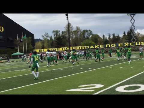 Sights and sounds from Oregon's 12th spring football practice