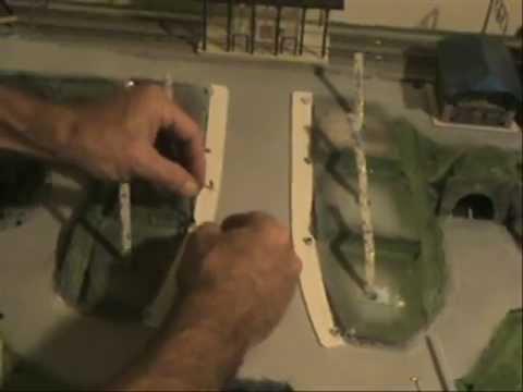 Building Sidewalks scale model