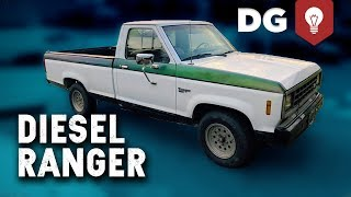 RARE '83 Ford Ranger 2.2L Perkins Diesel has Fuel In The Coolant?