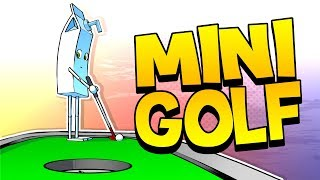 Mini Golf with the Boys - Golf it