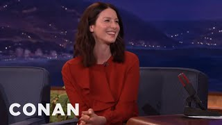 Sylvester Stallone Was Intimidated By Caitriona Balfe