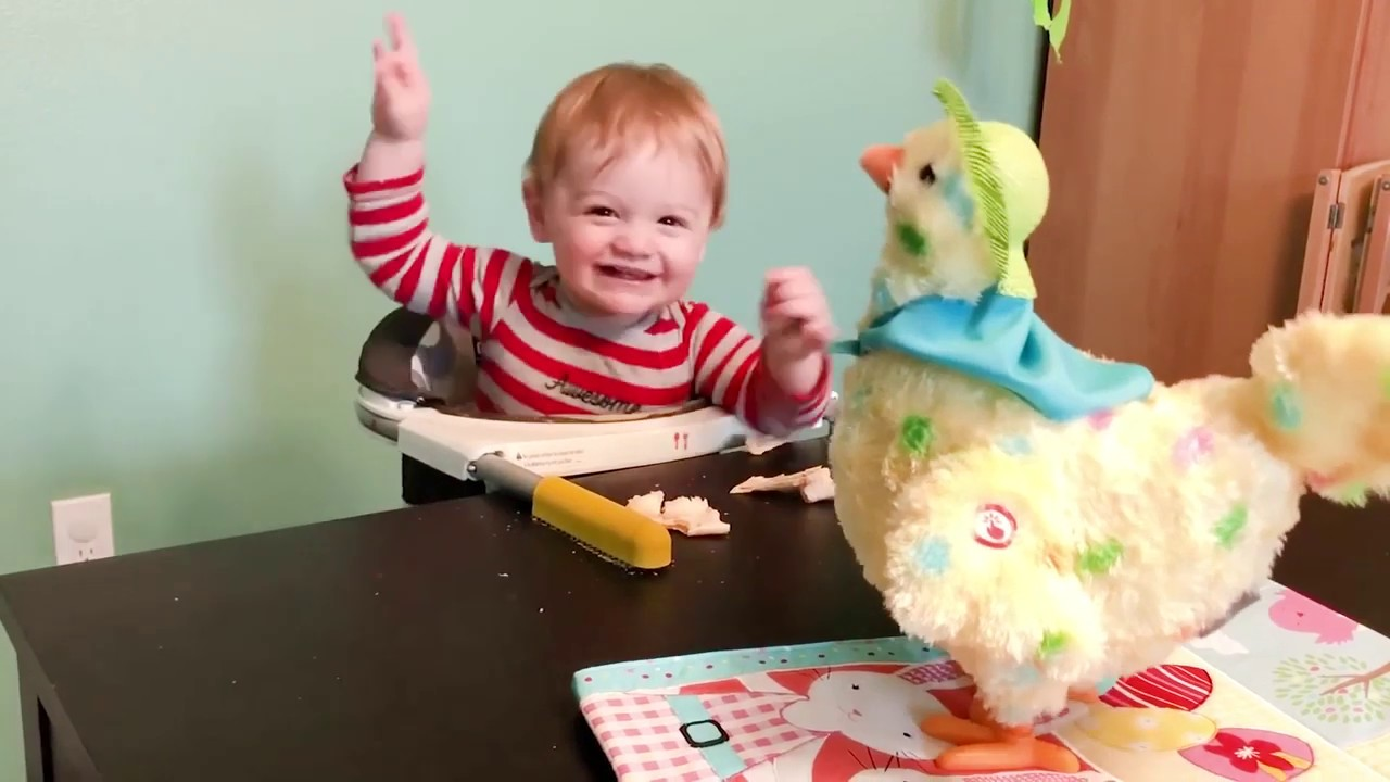 Baby Reaction Video Funny Baby Reaction To See Toys