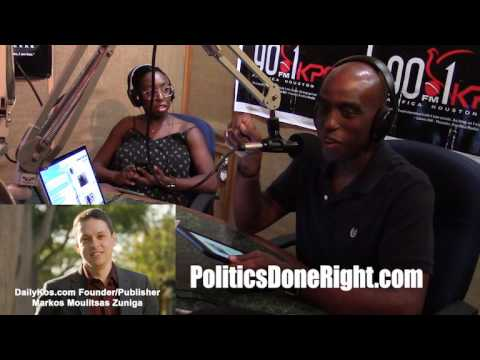 Politics Done Right on KPFT - Interview with Markos Moulitsas, founder of DailyKos.com
