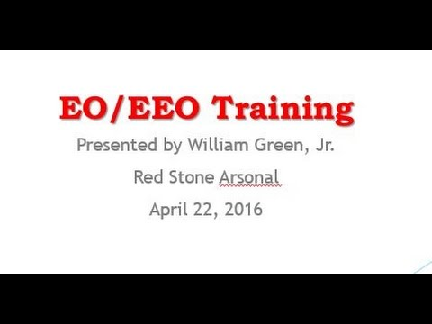 EO And EEO Training