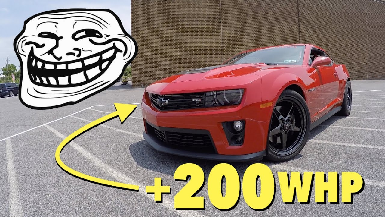 NEW MOD REVEAL For My 2013 Camaro ZL1!!! - YouTube