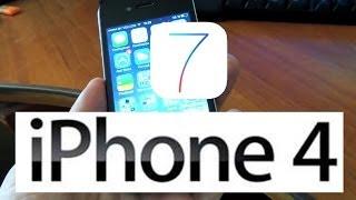 Тормозит или нет iOS 7 на iPhone 4 ?