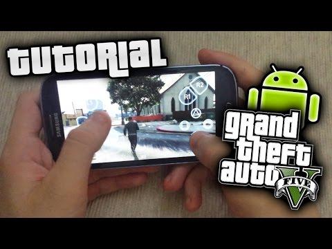 Gta  Come Giocare A Gta  Sul Telefono How To Play Gta  On Smartphone Youtube