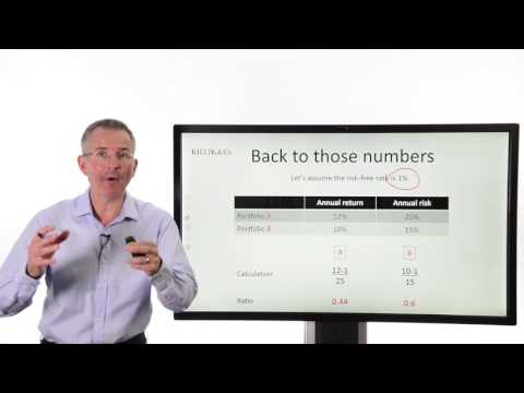 Tim Bennett Explains: How to weigh up funds using the Sharpe Ratio