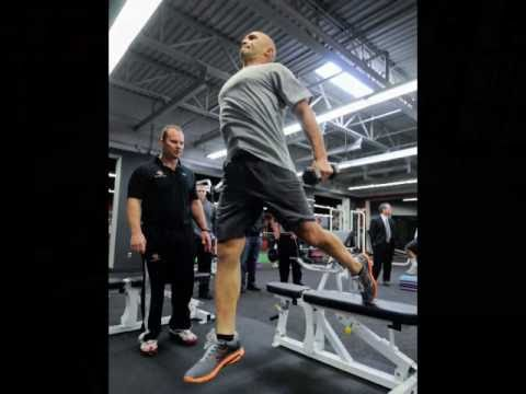 Power Train Sports Institute & Client Raul Ibanez - YouTube