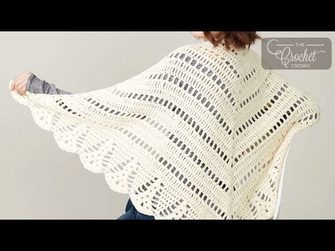 Crochet Prayer Shawl Youtube