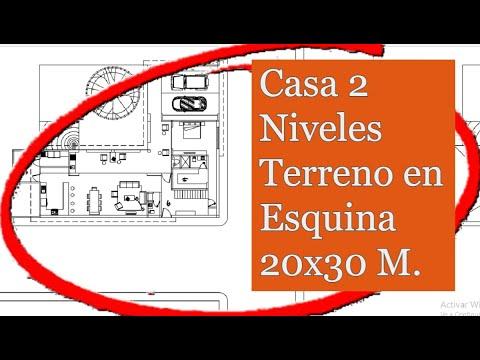 Planos de casa en esquina youtube for Planos de casas youtube