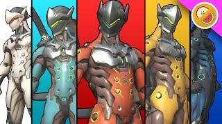 POWER RANGERS! | Overwatch Gameplay