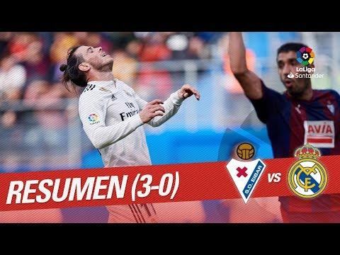 Resumen de SD Eibar vs Real Madrid (3-0)
