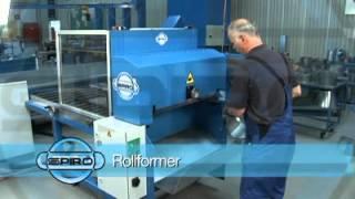 Maszyna SPIRO do formowania kształtek model Rollformer AR800. WWW.CNC-PROJEKT.PL