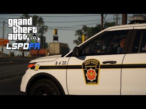GTA V   LSPDFR 0.4.1   Pennsylvania State Troopers