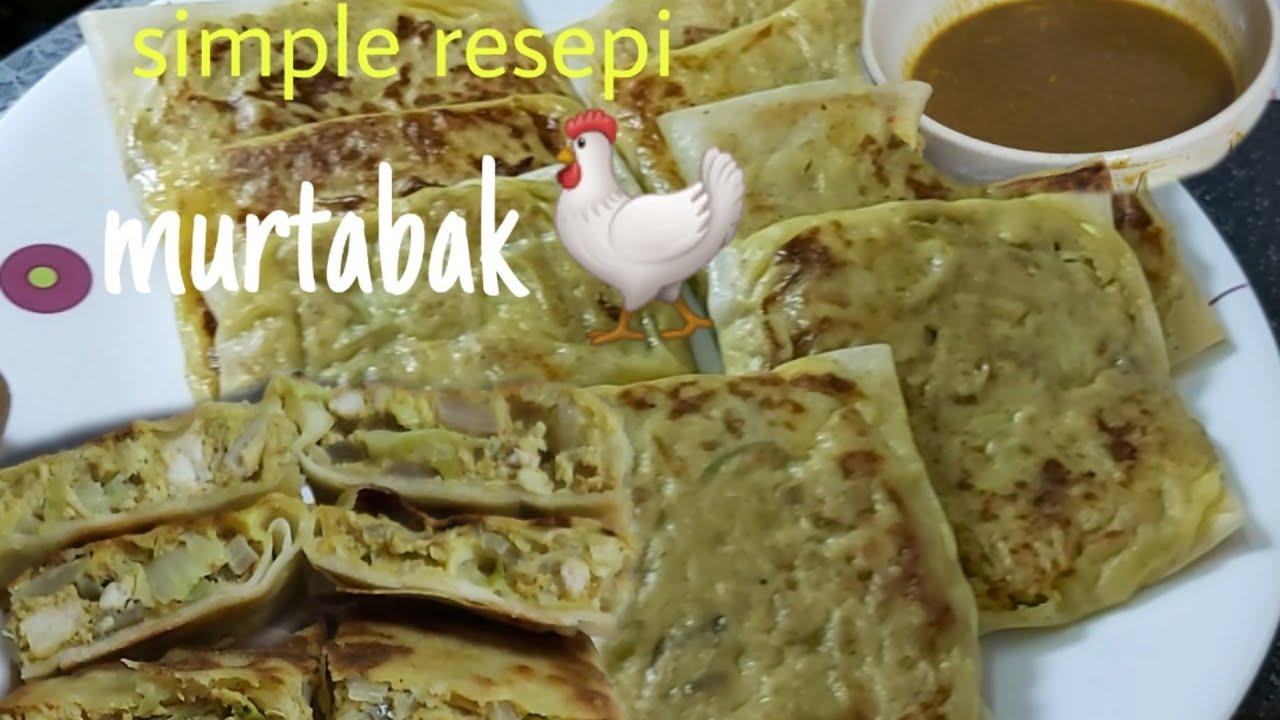 Ibu Masak Murtabak Ayam Kulit Popiachicken Martabak Recipe