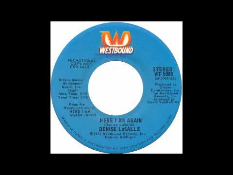 Denise Lasalle - Here I Am Again - Raresoulie