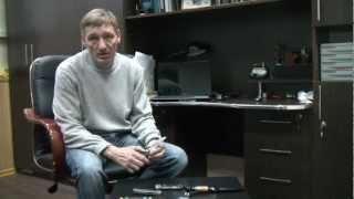 Ножевая сталь К340 - рассказ от А.Чебуркова