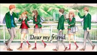 Dear My Friend - KOKIA - ENGLISH/ROMANJI