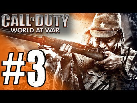 Call Of Duty: World at War - Campaign Gameplay Walkthrough - Mission 3 [4K 60FPS]
