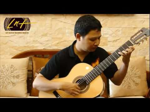 Học Guitar - Kĩ thuật Tremolo [LNT-Guitar.com Trainning Session]