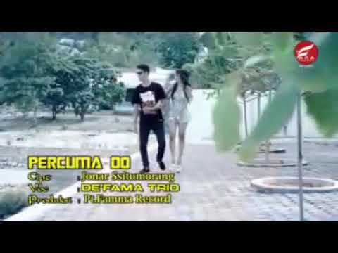 DE'FAMA TRIO ||| PERCUMA DO || HITS BATAK 2018 (OFFICIAL VIDEO)