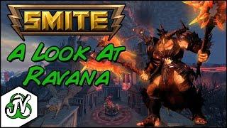 Taking A Look At - Ravana - Smite PTS Gameplay