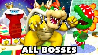 Super Mario Sunshine - All Bosses Gameplay! (Super Mario 3D All Stars)