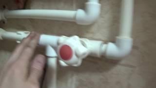 Установка водонагревателя Thermex H 10 O-Pro.