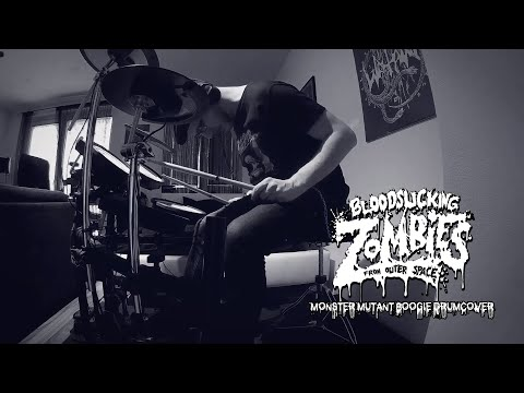 Bloodsucking Zombies from Outer Space - Monster Mutant Boogie Drumcover Mp3