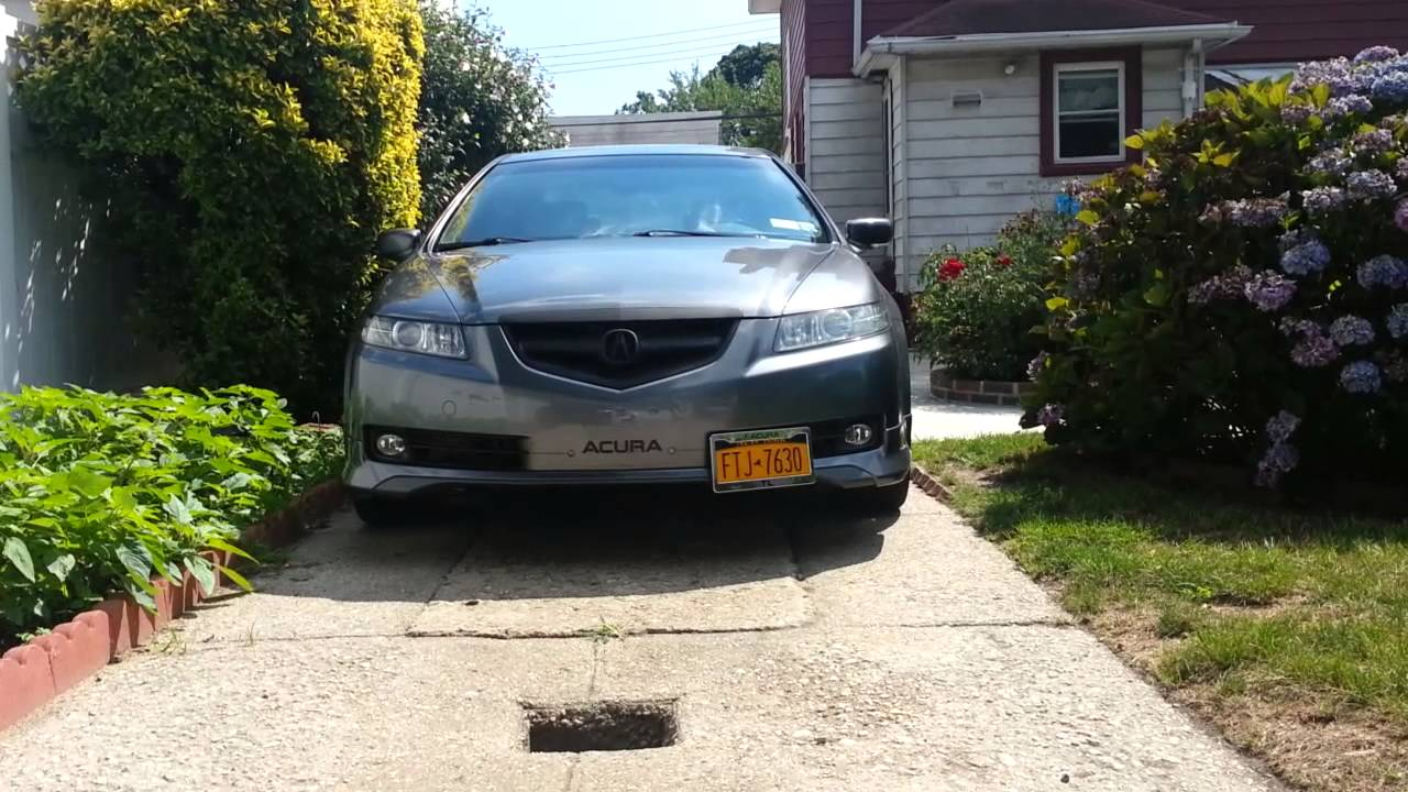 acura bumperdecal license plate relocator youtube