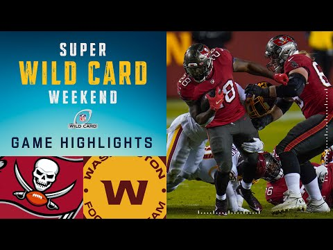 Buccaneers vs. Washington Football Team Super Wild Card Weekend Highlights | NFL 2020 Playoffs