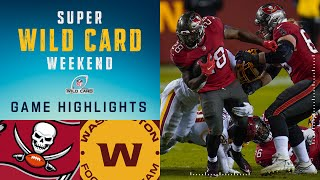 Buccaneers vs. Washington Football Team Super Wild Card Weekend Highlights