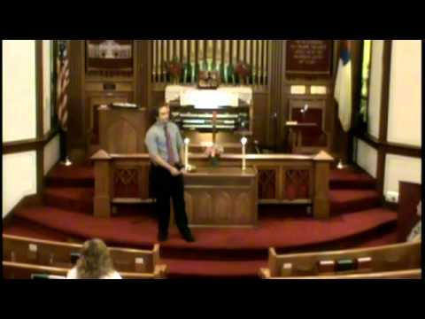 Plymouth congregational Church Service August 17 2014 Andrew Jones