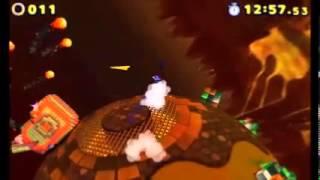 Sonic Lost World (3DS) - Lava Mountain Zone 1 (S-Rank)
