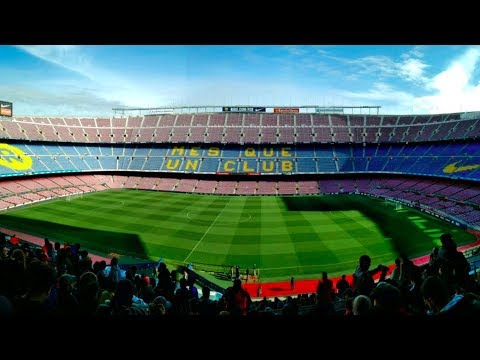 The Camp Nou Experience - FC Barcelona Tour of Stadium