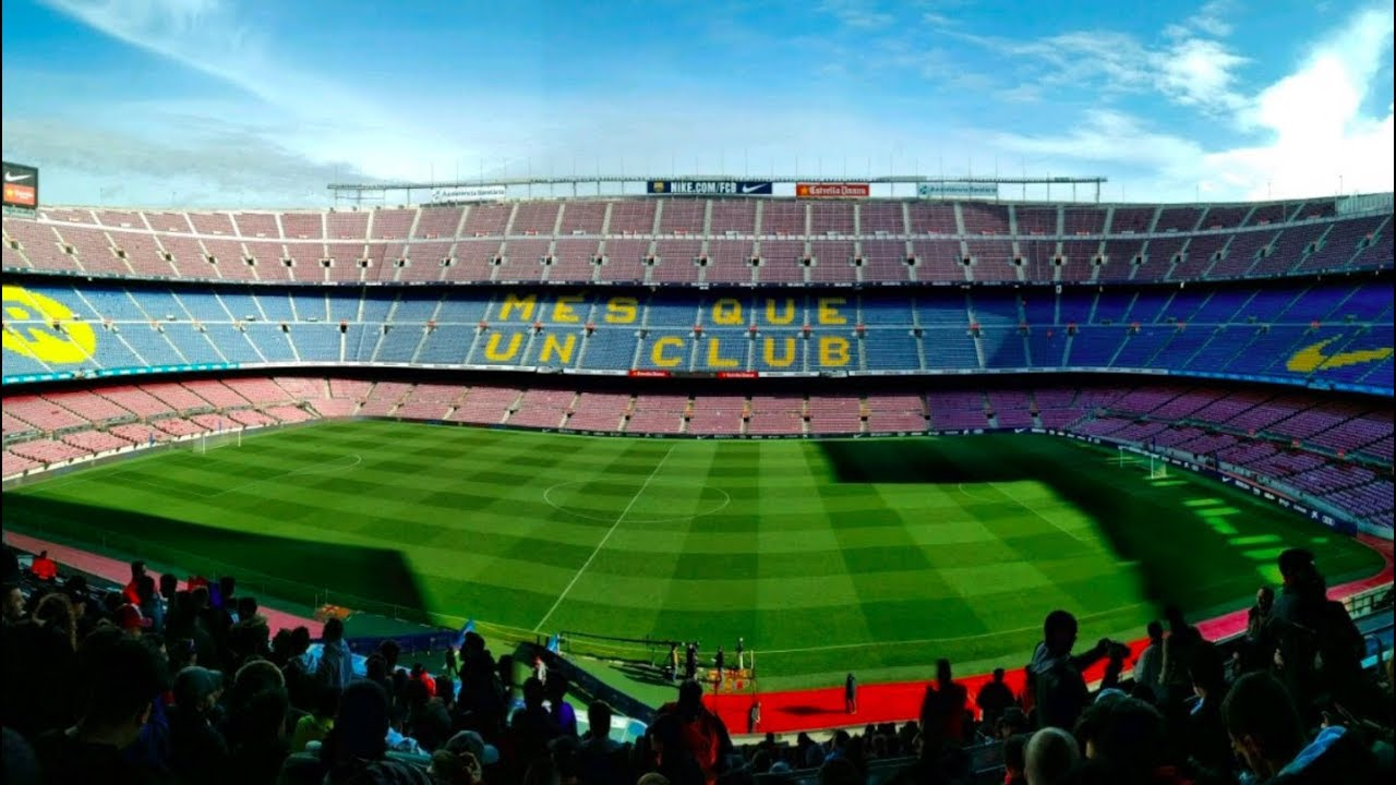 1971e3b503c The Camp Nou Experience - FC Barcelona Tour of Stadium - YouTube