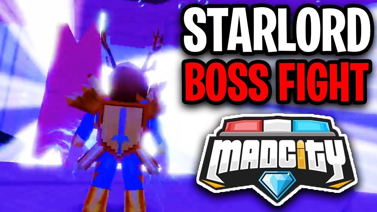 Mad City New Starfish Boss Fight Event Tesla Cyber Truck