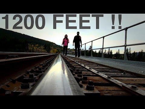 Tallest Train Trestle in North America. Adventure #28