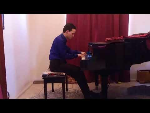 Nicholas Turner Performs Chopin's Etude Op 29, No 12 Ocean