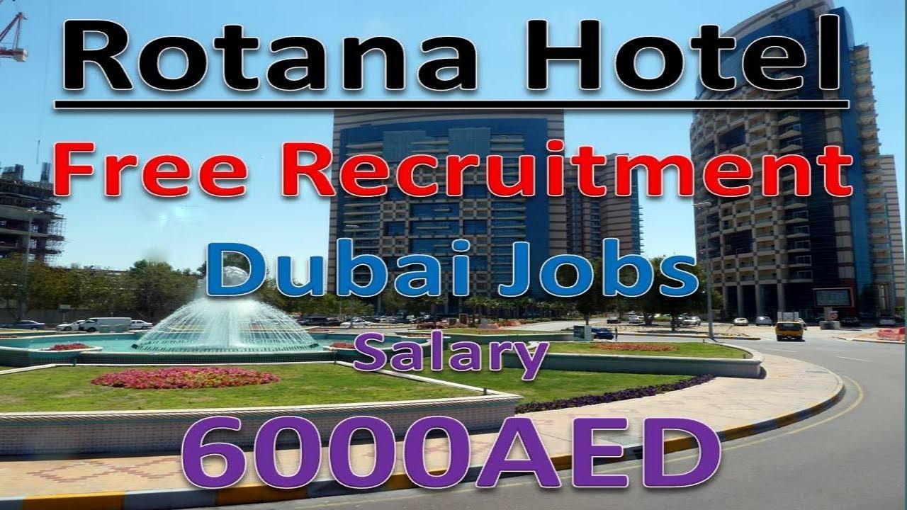 Jobs In Dubai Directly From Rotana Hotel Good Salary With Free Visa
