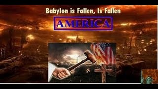 Is God Wiping The Great Whore U.S. Off The Map Why We Don't Help Israel @ Gog Magog War?