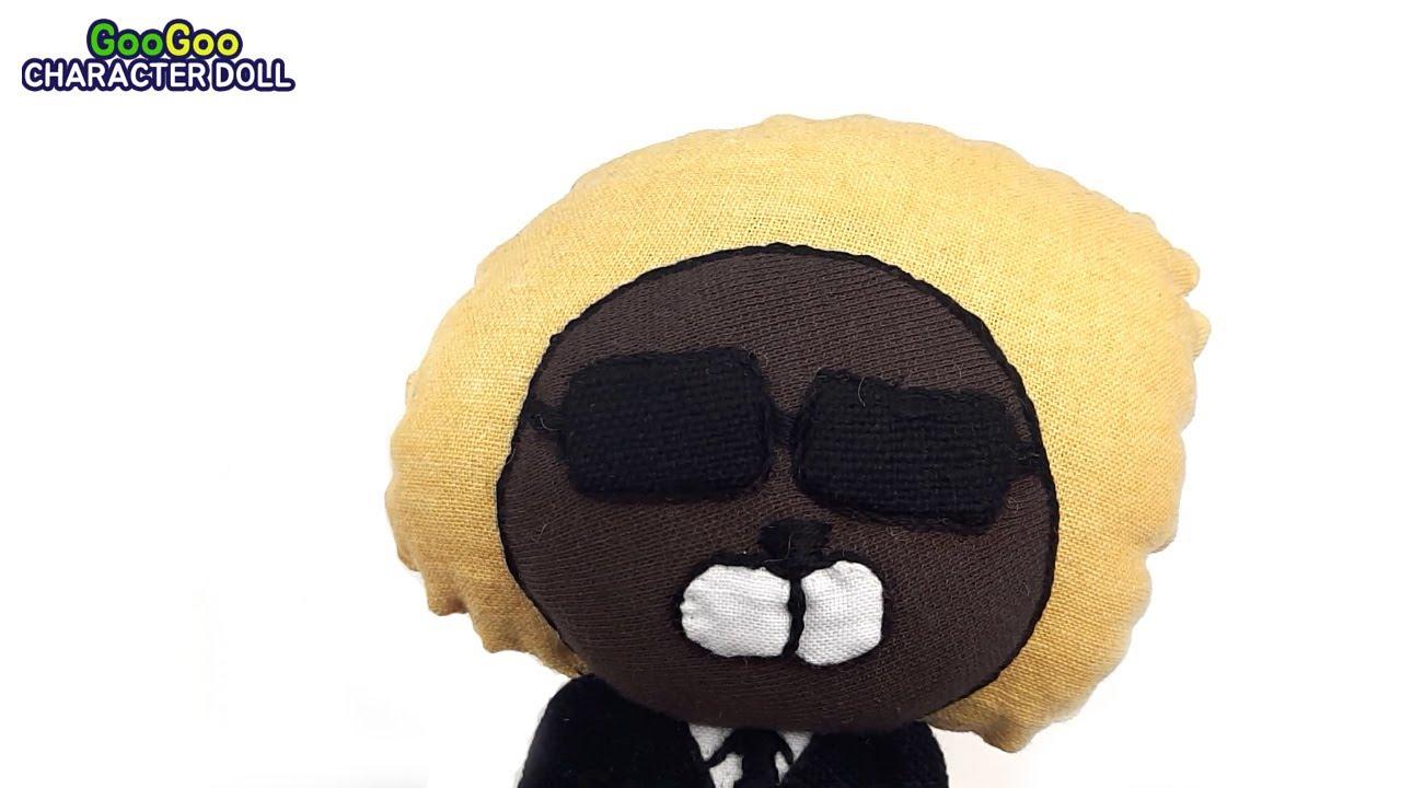 [카카오프렌즈] 제이지 인형 만들기 - 캐릭터인형 GooGoo